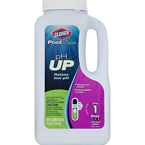 Clorox Pool & Spa Ph Up Step 1 - 4 Lb