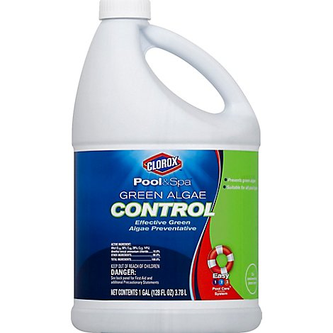 Clorox Pool&Spa Green Algae Control - 128 Oz