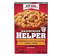 Betty Crocker Hamburger Helper Cheeseburger Macaroni - 6.6 Oz