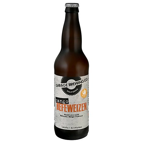 Garage Brewing Mango Hefeweizen In Bottles - 22 Fl. Oz.