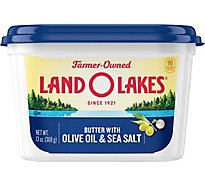 Land O Lakes Butter with Olive Oil & Sea Salt - 13 Oz