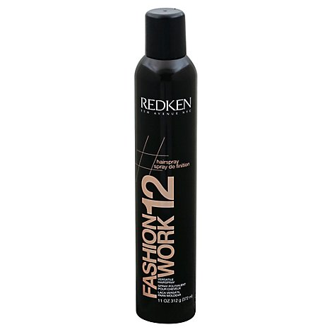 Redken Fashion Work 12 Black Pkg - 11.0 Oz
