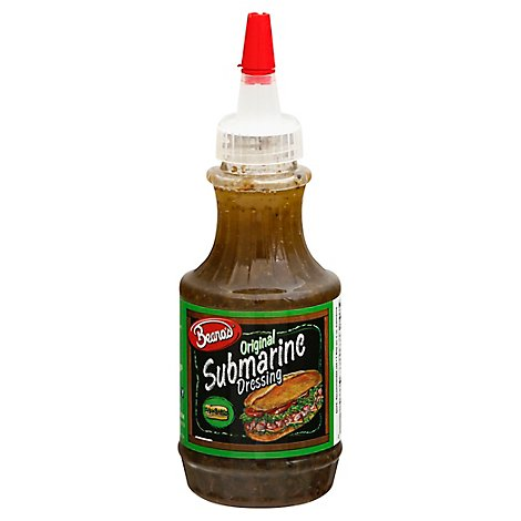 Beanos Dressing Submarine Original - 8 Oz