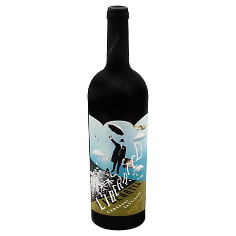 Liberated Wine Cabernet Sauvignon Sonoma Country - 750 Ml