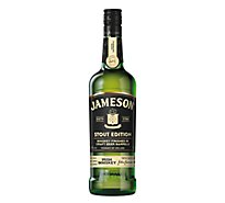 Jameson Whiskey Irish Caskmates Stout Triple Distilled Edition 80 Proof - 750 Ml