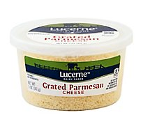 Lucerne Cheese Grated Parmesan Tub - 5 Oz