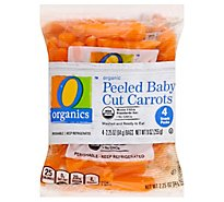 O Organics Snack Pack Carrots - 9 Oz