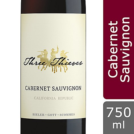 Three Thieves Wine Cabernet Sauvignon California Republic - 750 Ml