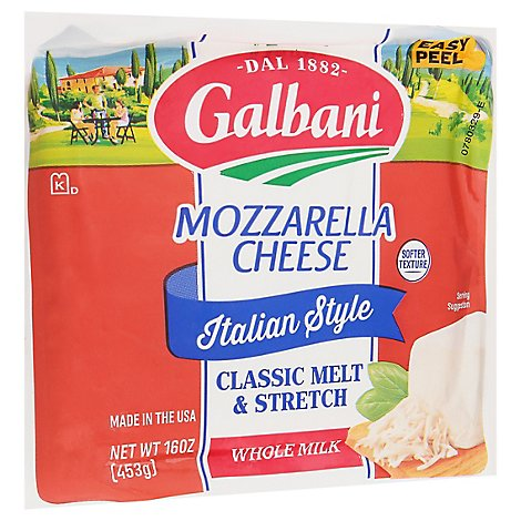 Galbani Sorrento Whole Milk Mozzarella Cheese - 16 Oz