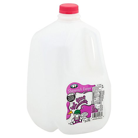 Shamrock Farms Milk Fat Free 1 Gallon - 3.78 Liter