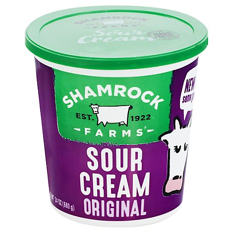 Shamrock Farms Sour Cream - 24 Oz