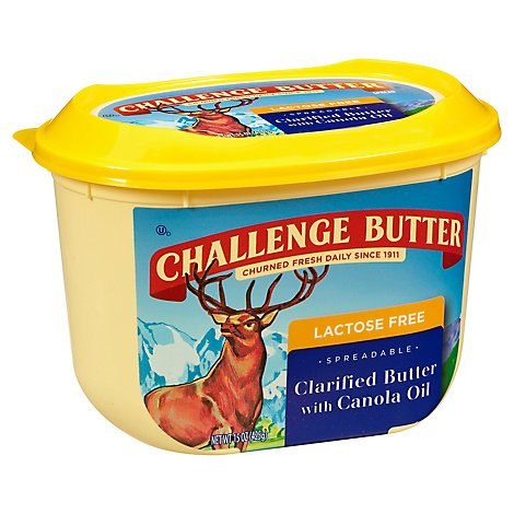 Challenge Butter Lacoste Free Clarified Butter with Canola Oil - 15 Oz