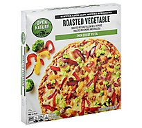 Open Nature Pizza Thin Crust Roasted Vegetable Frozen - 17.5 Oz