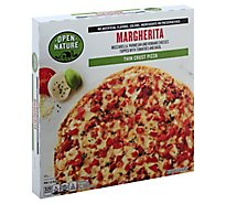 Open Nature Pizza Thin Crust Italian Sausage & Uncured Pepperoni Frozen - 15.8 Oz