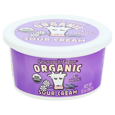Shamrock Farms Organic Sour Cream - 12 Oz
