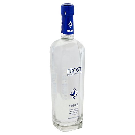 Frost Vodka Distilled 5 Times 80 Proof - 750 Ml