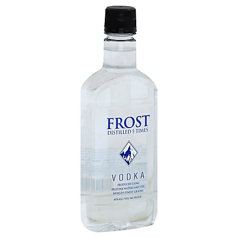 Frost Vodka Distilled 5 Times 80 Proof Pet - 750 Ml