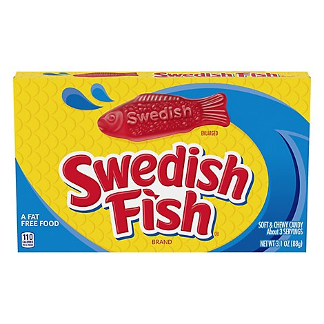 Swedish Candy Soft & Chewy - 3.1 Oz