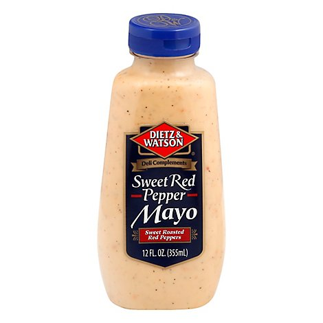 Dietz & Watson Sweet Red Pepper Mayo - 12 Oz
