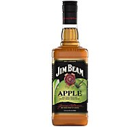 Jim Beam Apple Kentucky Straight Bourbon Whiskey 70 Proof - 750 Ml
