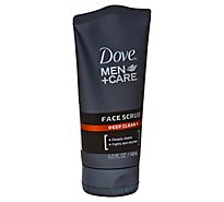 Dove Men+Care Face Scrub Deep Clean - 5 Fl. Oz.