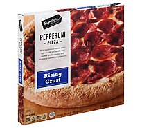 Signature SELECT Pizza Rising Crust Pepperoni Frozen - 30.5 Oz