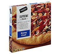 Signature SELECT Pizza Rising Crust Supreme Frozen - 33.5 Oz