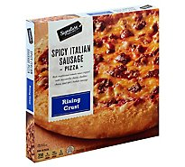 Signature SELECT Pizza Rising Crust Spicy Italian Sausage Frozen - 30.7 Oz