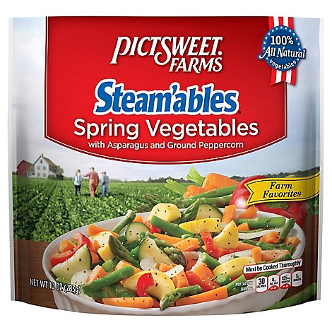 Pictsweet Farms Steamables Vegetables Spring Farm Favorites - 10 Oz