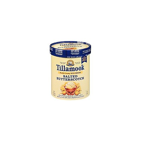 Tillamook Salted Butter Scotch Ice Cream - 1.75 Quart