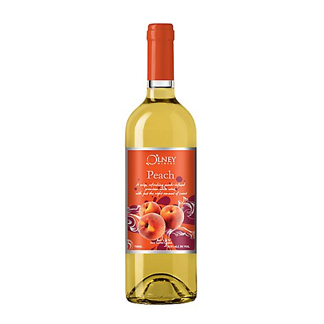 The Winery At Olney Wine Chardonnay Peach - 750 Ml