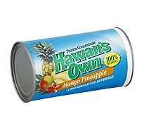 Hawaiis Own Juice Frozen Concentrate Mango Pineapple - 12 Fl. Oz.