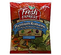 Fresh Express Salad Greens Premium Romaine - 9 Oz