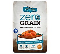 Rachael Ray Nutrish Zero Grain Food for Dogs Salmon & Sweet Potato Recipe Bag - 12 Lb
