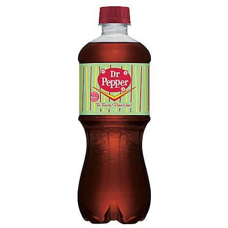 Dr Pepper Made with Sugar 20 fl oz bottle