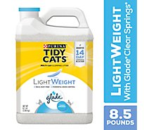 Tidy Cats Cat Litter Clumping LightWeight Glade Odor Solutions - 8.5 Lb