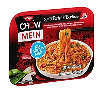 Nissin Chow Mein Noodle Premium Spicy Teriyaki Beef Flavor - 4 Oz
