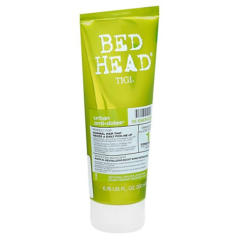 Bed Head Urban Antidotes #1 Conditioner Re-Energize - 6.76 Fl. Oz.