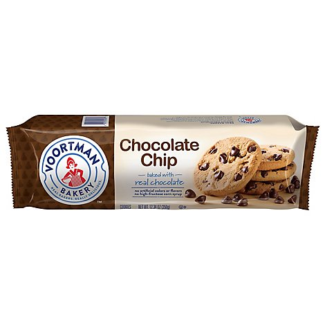 Voortman Cookies Chocolate Chip Roll Pack- 12.3 Oz