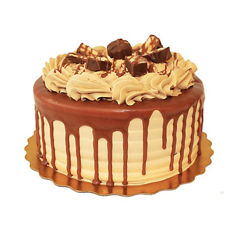 Bakery Cake 2 Layer Snickers - Each