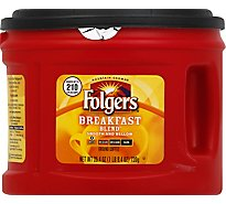 Folgers Coffee Ground Mild Roast Breakfast Blend - 25.4 Oz