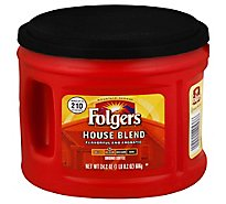 Folgers Coffee Ground Medium Roast House Blend - 24.2 Oz