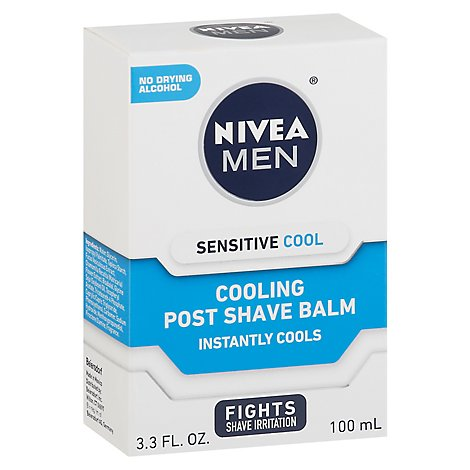 Nivea Men Sensitive Cooling Post Shave Balm - 3.3 Fl. Oz.