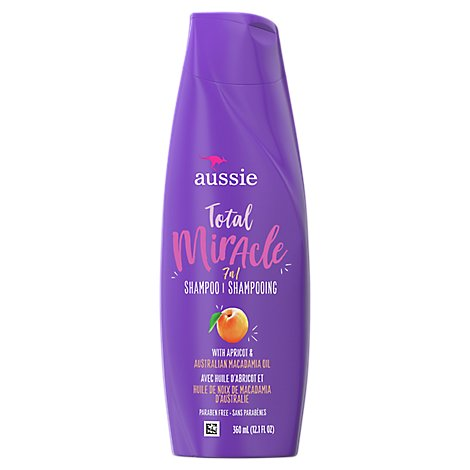 Aussie Total Miracle Collection Shampoo 7N1 - 12.1 Fl. Oz.