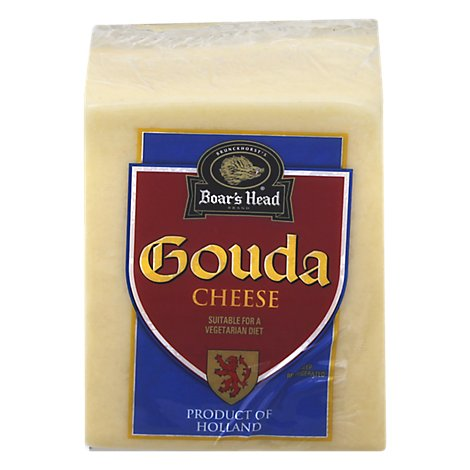 Boars Head Cheese Gouda 0.50 LB