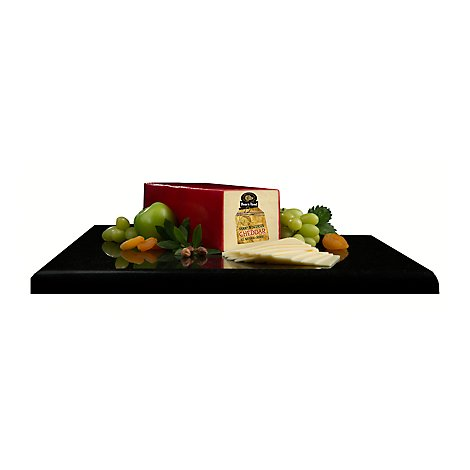 Boars Head Sharp Wisconsin Cheddar White Cheese - 0.50 Lb