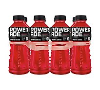 POWERADE Sports Drink Electrolyte Enhanced Fruit Punch - 8-20 Fl. Oz.