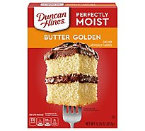 Duncan Hines Classic Cake Mix Butter Golden - 15.25 Oz