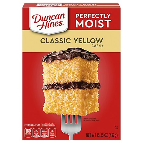 Duncan Hines Classic Cake Mix Classic Yellow - 15.25 Oz