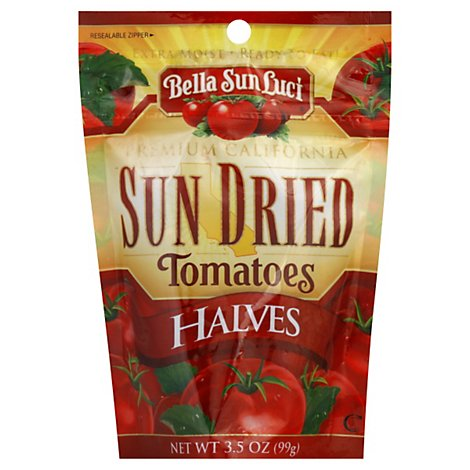 Bella Sun Luci Tomatoes Sun Dried Halves Prepacked - 3 Oz